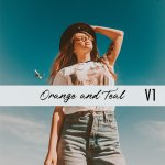 Teal Orange 1