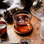 Горячий чай пресет