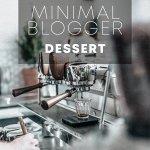 Minimal blogger dessert пресет