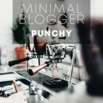 Minimal Blogger Punchy пресет