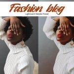 Fashion Blogger Lightroom мобильный пресет для телефона