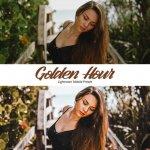 Golden Hour Lightroom — мобильный пресет