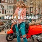 Инста блогер — стильный пресет
