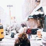 Снежный город — пресет для телефона