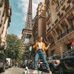 Прогулка по Парижу пресет