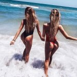 Девочки на море пресет
