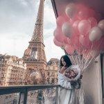 Нежно — розовый пресет