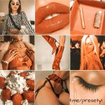 Спелый персик пресет