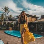 Teal orange pool — мобильный пресет лайтрум